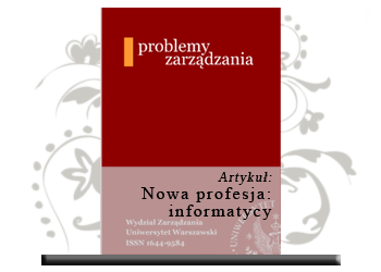 Nowa profesja: informatycy